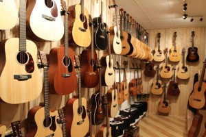Gitarrenwand